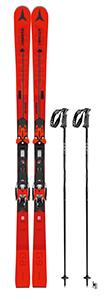 A 1: Exklusiv-Ski inkl. Stöcke