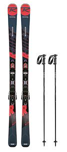 A 2: Top-Ski inkl. Stöcke